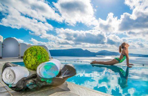 hoteles en Grecia con piscinas privadas